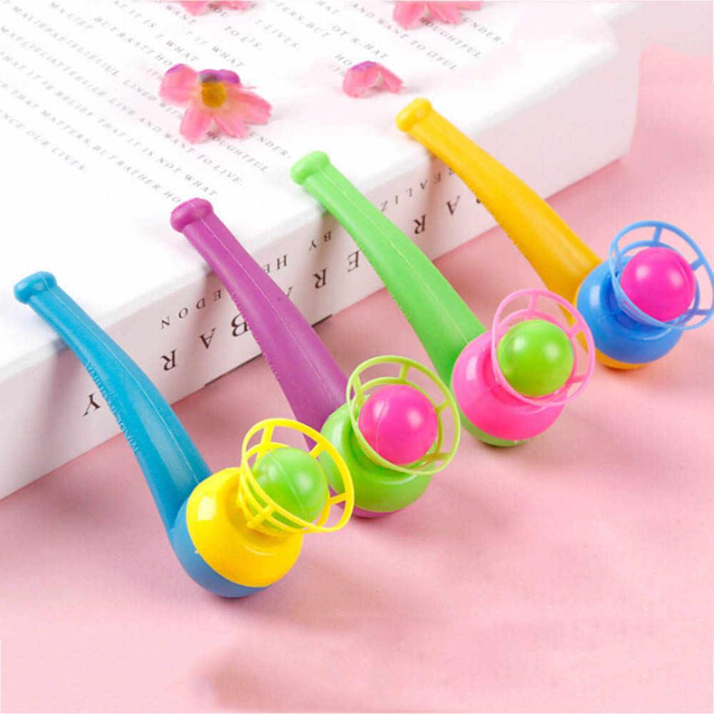 Corlor Zufällig Niedliche Kleine Spielzeug Tabak Rohr Weht Ball Nostalgie Ausgesetzt Ball Kindheit Pädagogisches Spielzeug Für Kinder
