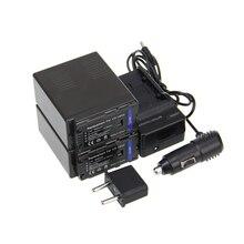 Новый 2 шт. VW-VBG6 VWVBG6 VW VBG6 Rechargerable Камера Аккумулятор + Зарядное Устройство Аккумуляторная Камера Аккумулятор Для Panasonic Bateria