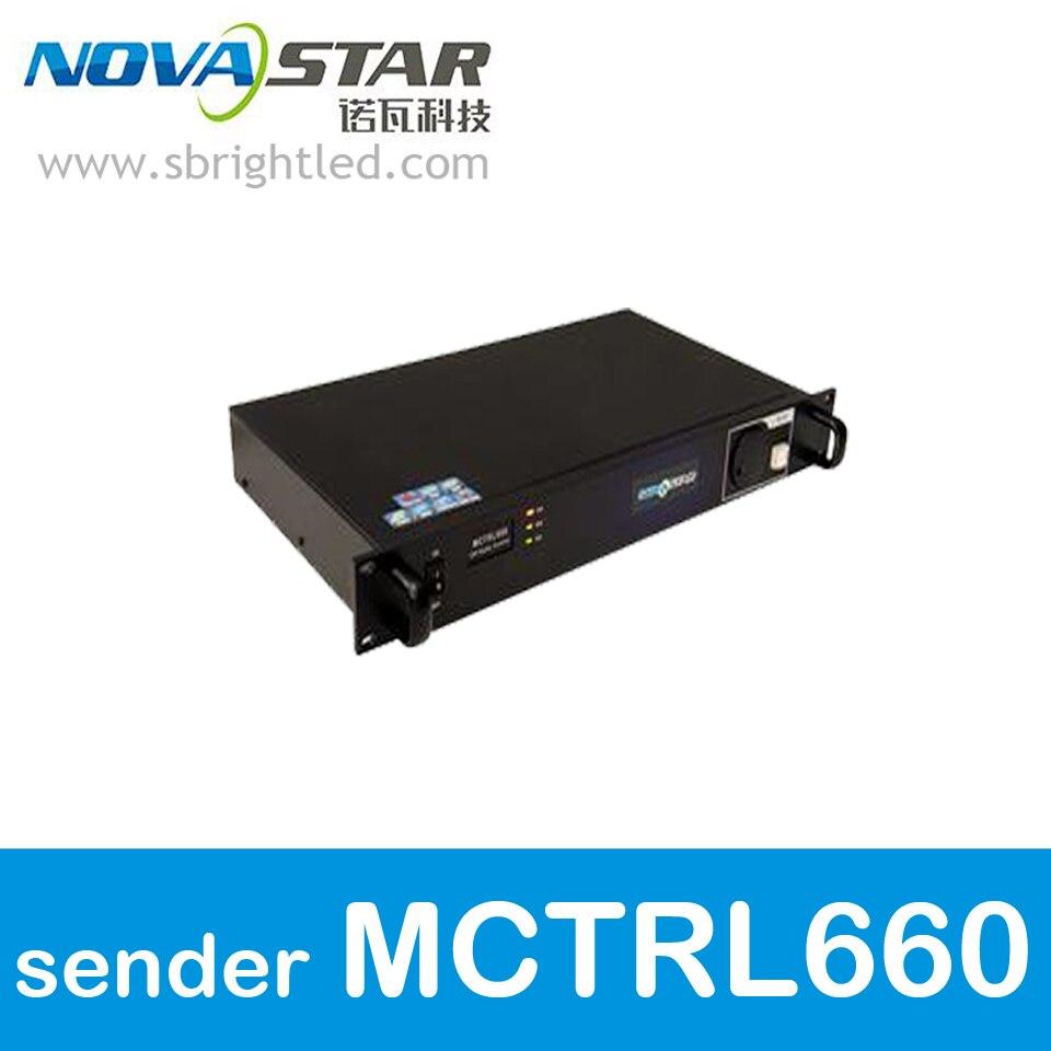 Nova STELLA MCTRL660 invio di carta scatola nova per LED RGB full color display a led video schermo a parete