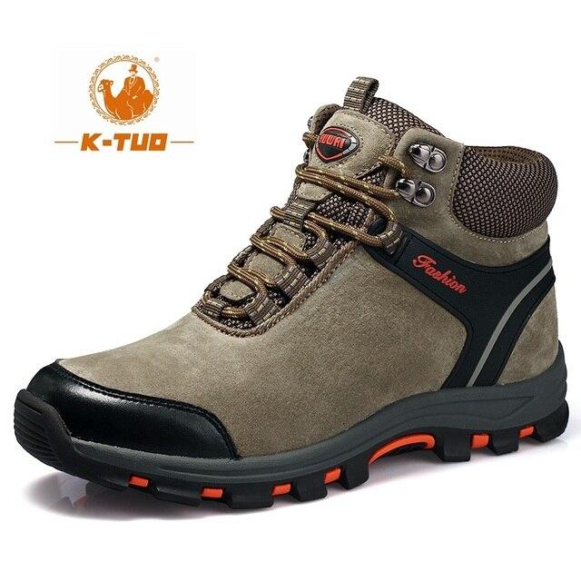 Visualizzza di più. K-TUO Inverno Stivali Impermeabili Scarpe Da Trekking Uomini  Scarpe Da Arrampicata Mountain Sport All 64c9fdf9c14