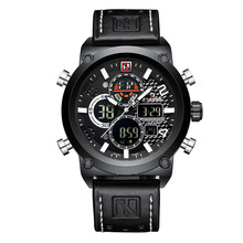 Fashion Black Watches For Men Quartz Watch Men Luxury Top Brand Military Mens Sport Digital Watches Male Clock Relogio Masculino pacific angel shark sport watch luxury calendar quartz men male watches fashion red black leather band relogio masculino sh094