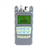 All IN ONE Fiber Optical Power Meter 70 to +10dBm 1mw 5km Cable Tester Visual Fault Locator FTTH Tester Tool