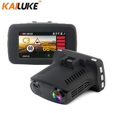 KAILUKE Ambarella A7LA50 GPS Radar Auto Kamera Auto DVR Radar Detetor DVRS Speedcam HD 1296 P WDR Nachtsicht Dash Cam BlackBox