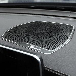 Image 5 - Cubierta de altavoz para salpicadero de Mercedes Benz, accesorios embellecedores, pegatinas, para Mercedes Benz W205 GLC Clase C C180 C200