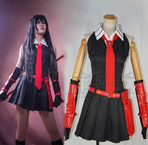 Aliexpress.com : Buy Anime Akame ga Kill Cosplay Akame Costume ...