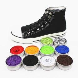 Neue Lustige Faul Keine Krawatte Schnürsenkel Schnell und einfach Sneaker elastische Schnürsenkel männer schuhe einhand schnürsenkel 14 farbe verfügbar xd149