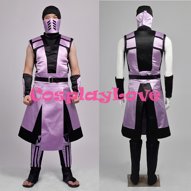Mortal Kombat Rain Cosplay Costume Men Cos Outfit Custom Made High Quality Halloween Christmas CosplayLove