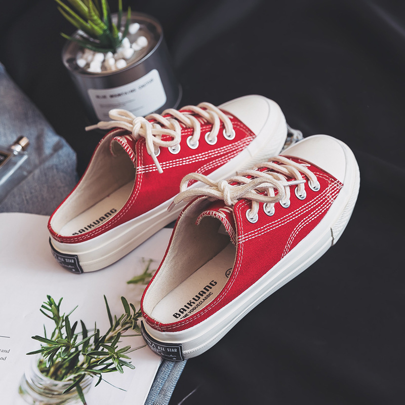 Responsible Canvas Shoes With High Tops Flats Harajuku Fashion Transparent Soles Casual Shoes Summer Lace Breathable Canvas Lace-up Flats Shoes Men's Vulcanize Shoes