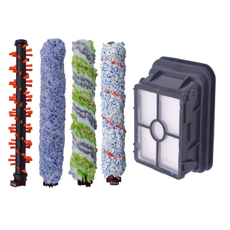 6 Pcs//set Filterrolle Pinsel Kit Für Bissell Crosswave 1785 2306 Staubsauge