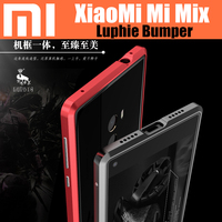 Original LUPHIE Bumper For Xiaomi Mix Strong Armor Aluminum Metal Frame Case