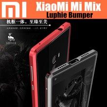 Оригинал LUPHIE бампер для Xiaomi смешивания Сильный Броня Алюминиевый Металлический Каркас чехол для xiaomi ми mix