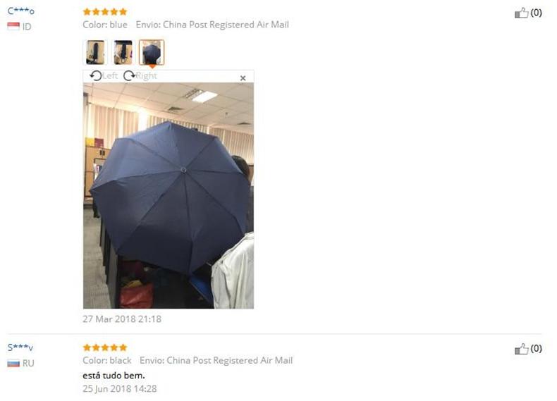New 3 Folding Women's Umbrella Automatic Umbrella Rain Women Male Big  Windproof Parasol Umbrellas For Men Dropshipping Paraguas