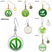 Cute Vegan earrings