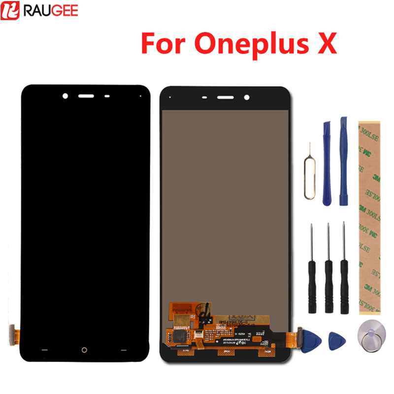 For Oneplus X LCD Display +Touch Screen 100% New Digitizer Glass Panel For Oneplus X 1920x1080 FHD 5.0inch In Stock
