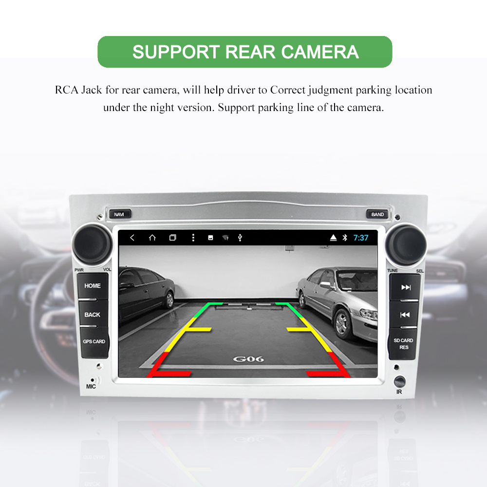 2Din Android 9 0 Car multimedia player For Opel Astra Vectra Antara Zafira  Corsa Car Intelligent System Radio GPS Navigation