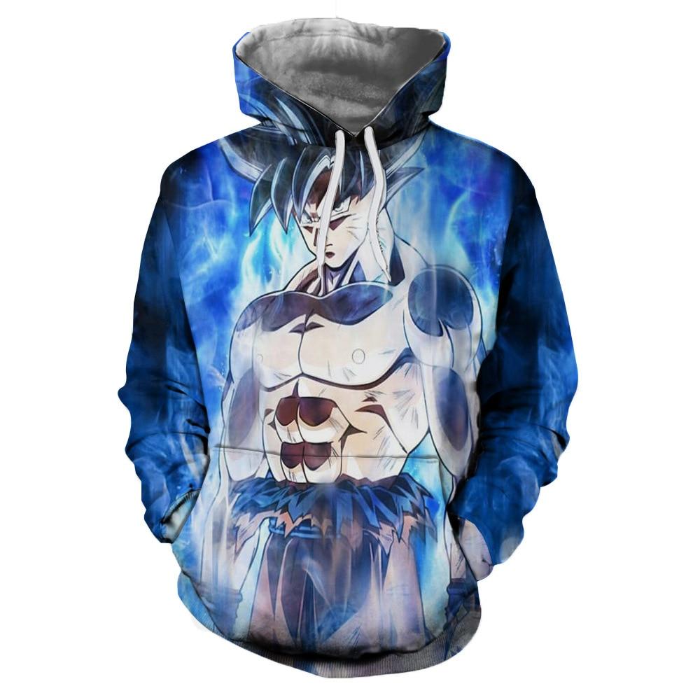 Dragon Ball Pullover Sweatshirts Goku Vegeta 3D Hoodies Outerwear Sweatshirt