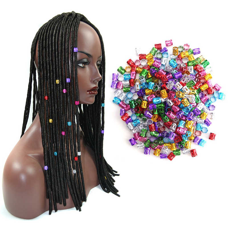 Распродажа с фабрики 1000 шт./партия розовые, красные, пурпурные, зеленые, синие, золотые, серебряные бусины для волос, регулируемые кольца для волос для косичек