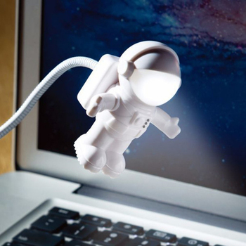 spaceman night light astronaut usb led adjustable Cute Nightlight Children Novelty Book Reading Bulb Clever 3D Lamp dropshipping novelty products cartoon cute horse usb 3d desk lamp directly usb novelty touch charming horse lamp 3d dimmable night light