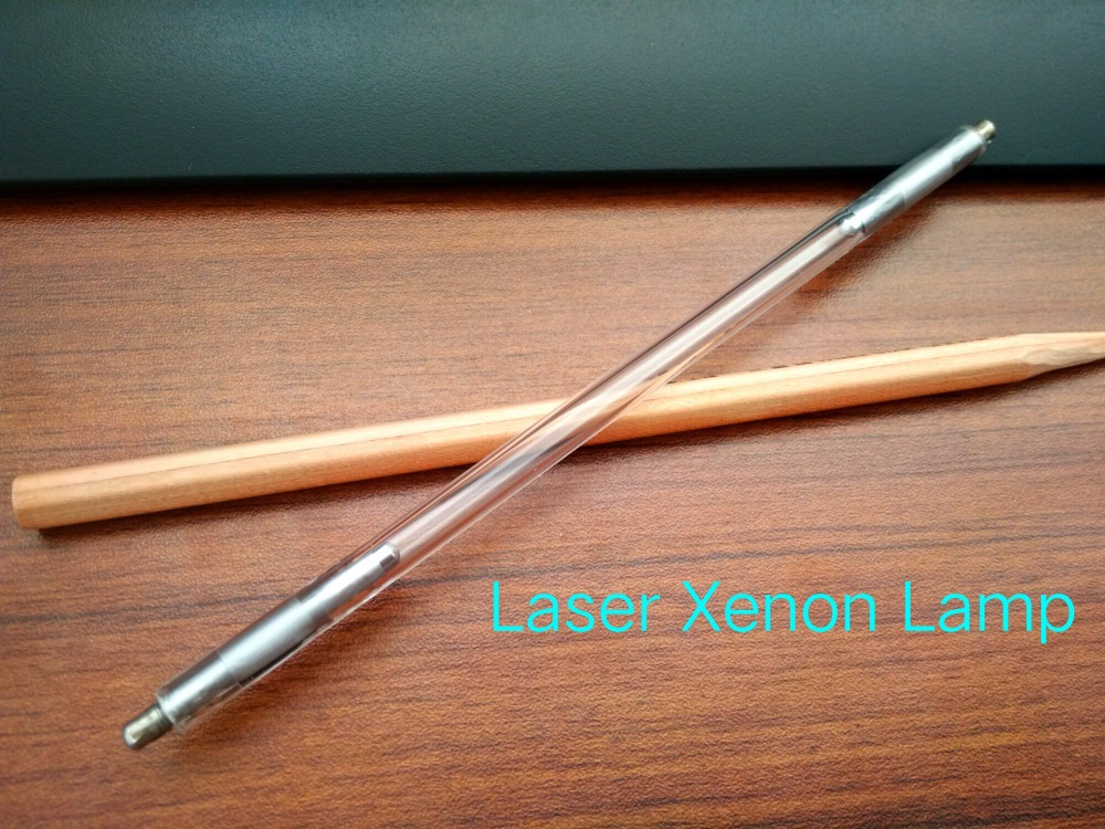 2 units Best Nd yag laser flash lamp for tattoo removal beauty apparatus 7*80*140mm 532nm nd yag laser head probe tip for sale