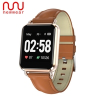 Presale Updated Newwear Q13 Smartwatch ECG+PPG Smart Watch Electrocardiogram Big Screen Men Blood Pressure Call Message Push