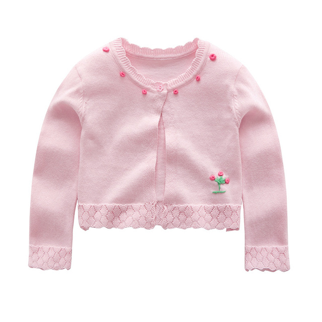 0449c64607cd New 2018 Girls Cardigan Kids Sweater Girls Coat Knit Long Sleeve ...