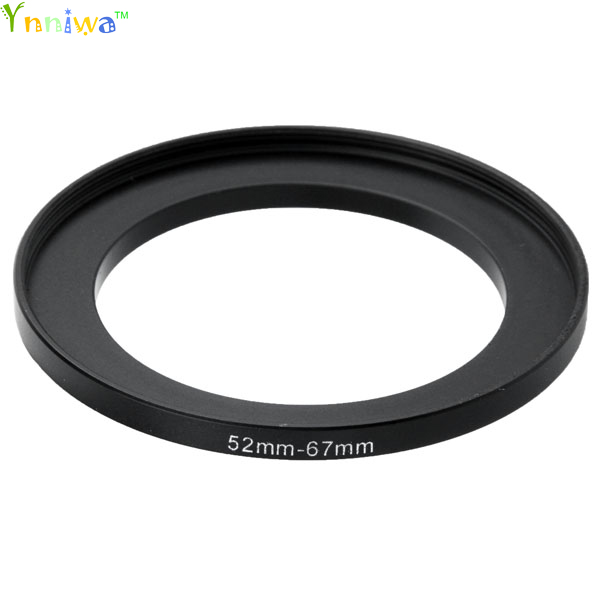 52-67mm Metal Step Up Rings Lens Adapter Filter Set
