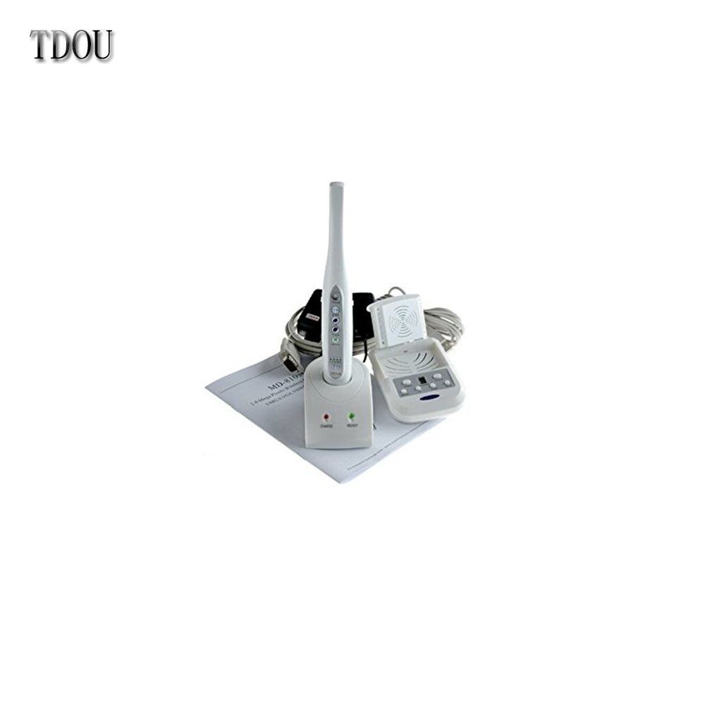 TDOUBEAUTY 2.0 Mega Pixels Wireless Intraoral Camera USB Connection Intraoral Oral Camera 6 LED Light MD8103O Free Shipping