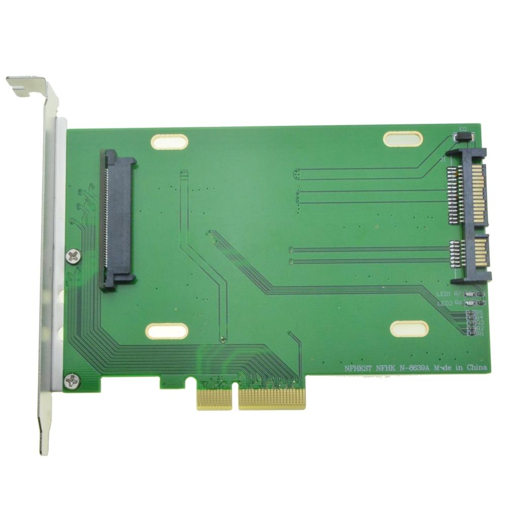 Adaptador para Intel Lane para U.2 Express para u2 Pci-e Placa-mãe 750 Nvme Pcie Ssd Pci Cartão 3.0×4 Kit Sff-8639