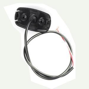 Image 2 - 1 шт. прицеп Светодиодный Боковой габаритный фонарь 24 В 0,6 Вт грузовик задняя фара автомобильный аксессуар лампа грузовик Авто сигнальные лампы Индикатор автофургона