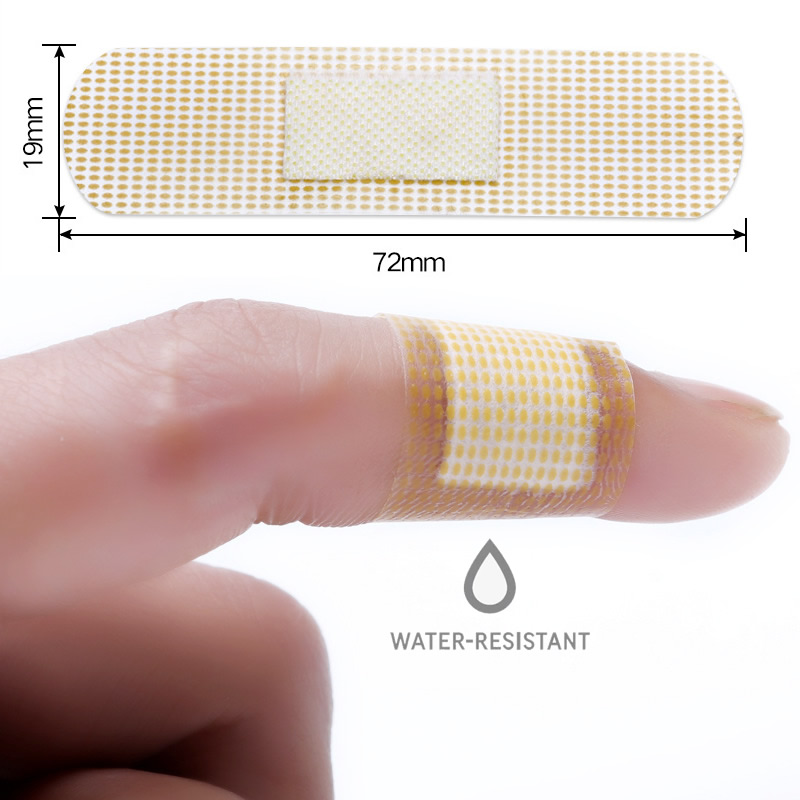 20-50-100Pcs Waterproof Medical Band Aid Wound Adhesive Plaster Bandages Sticker Home Travel First Aid Kit Supplies
