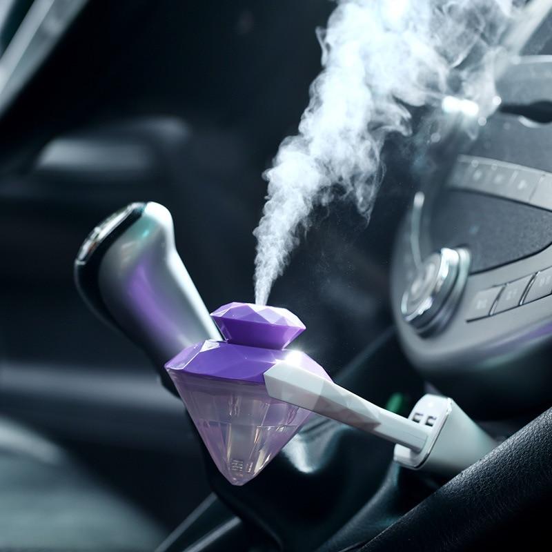 Portable d'utilisation Deux-en-un USB mini parfum de voiture diamant - Appareils ménagers - Photo 2