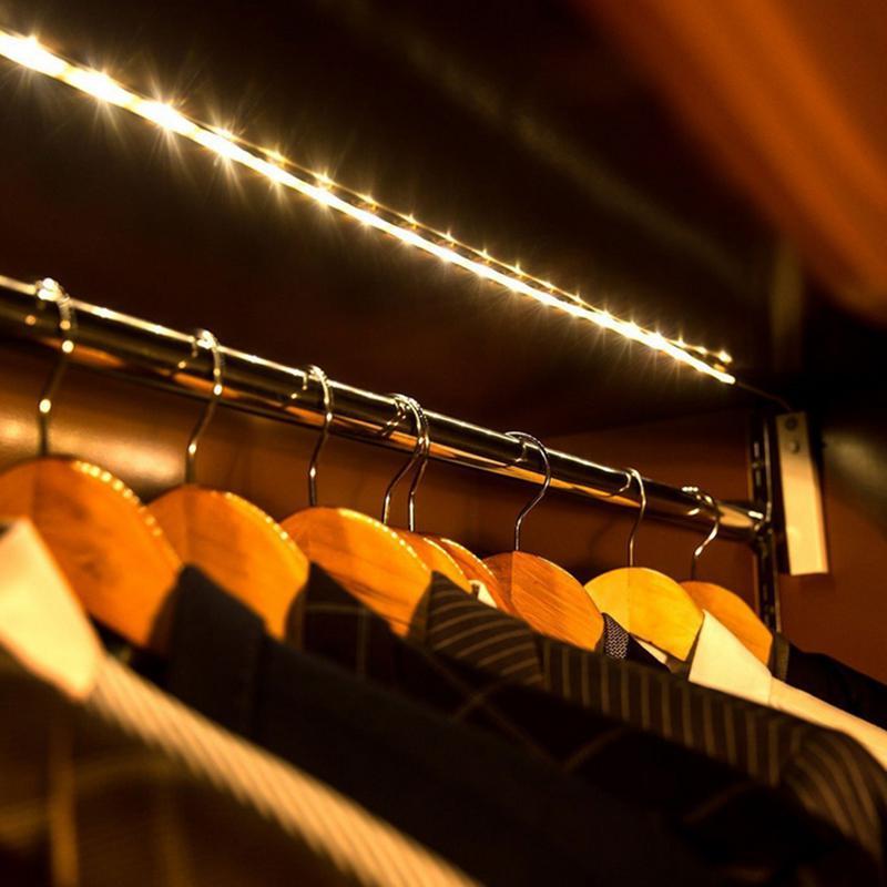 AKDSteel 50CM LED Strip Light Human Induction High Brightness LED Strip For Bed Room Night Light