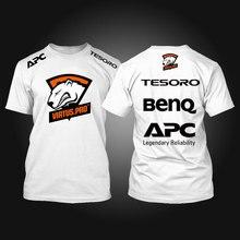 Tesoro benq apc virtus. pro t-shirt drucken t-shirt spiel team baumwolle t-shirt top tees t-shirt homme