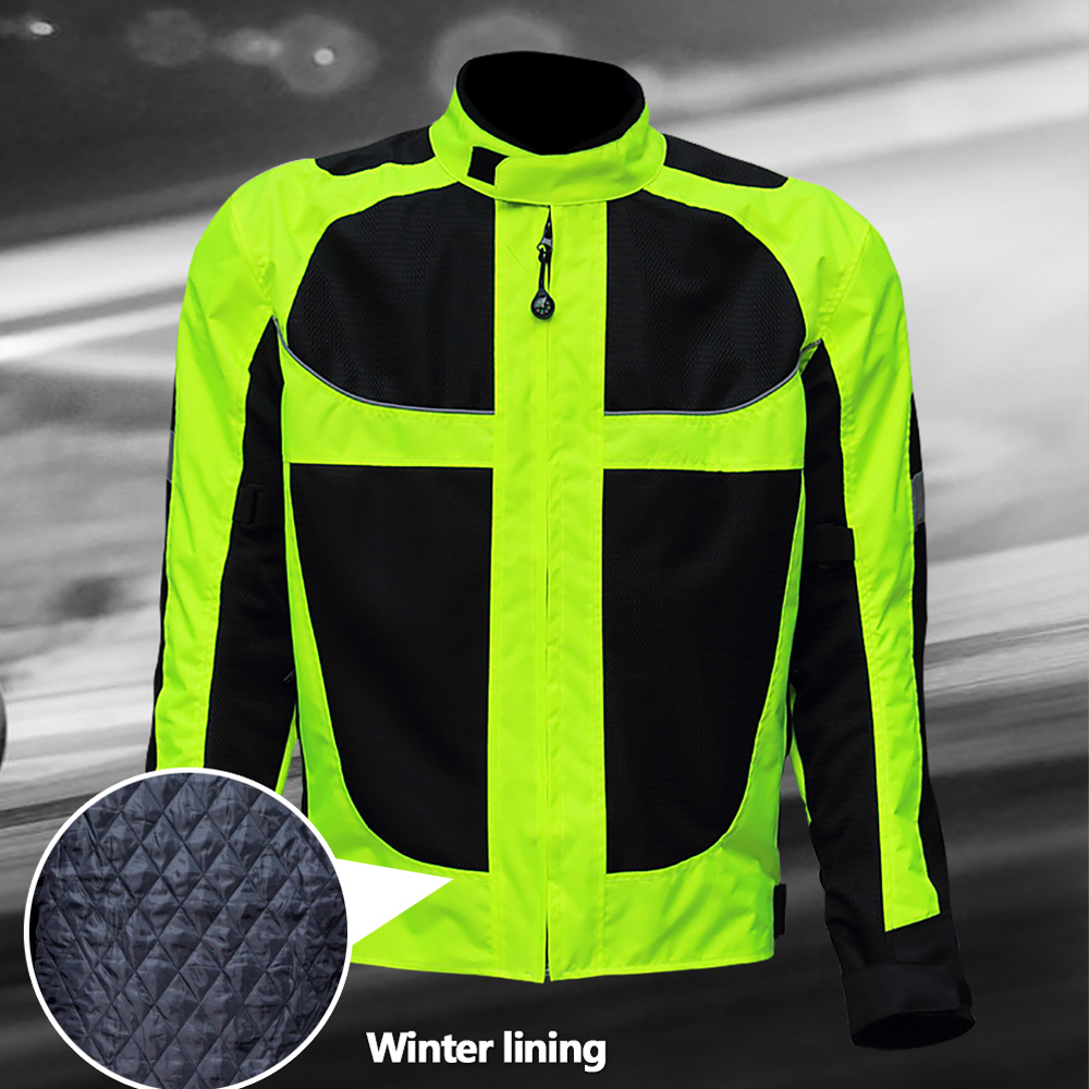 2017 Winter Motorcycle Men Jacket Male Racing Protective Clothing Keep Warm Windproof Outdoor Moto Jaqueta Chaqueta