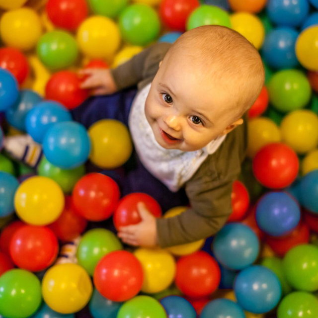 50pcs New Kids Baby Colorful Soft Play Balls Toy for Ball Pit Swim Pit Ball Pool Free shipping