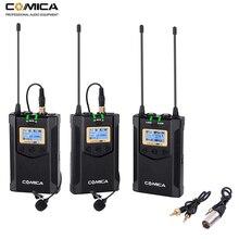ระบบไมโครโฟนไร้สาย Comica CVM WM100 PLUS ไมโครโฟนสำหรับ Canon Nikon Fuji SONY กล้อง DSLR,กล้องวิดีโอ,มาร์ทโฟน