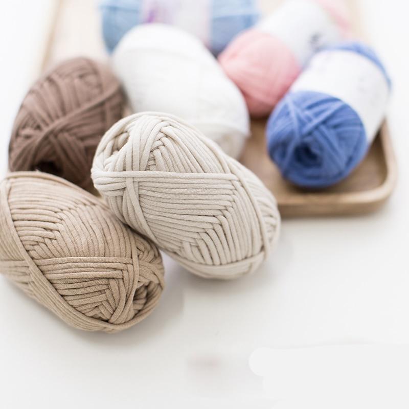 50g nieuwe geverfd ruwe Orginic katoen wol handweefsel u naaien in - Kunsten, ambachten en naaien