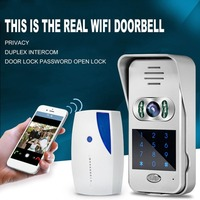 WIFI Video Intercom Doorbell Intelligent Electronic Cat Eye Home Wireless Calling Device Infrared Night Vision Sensor