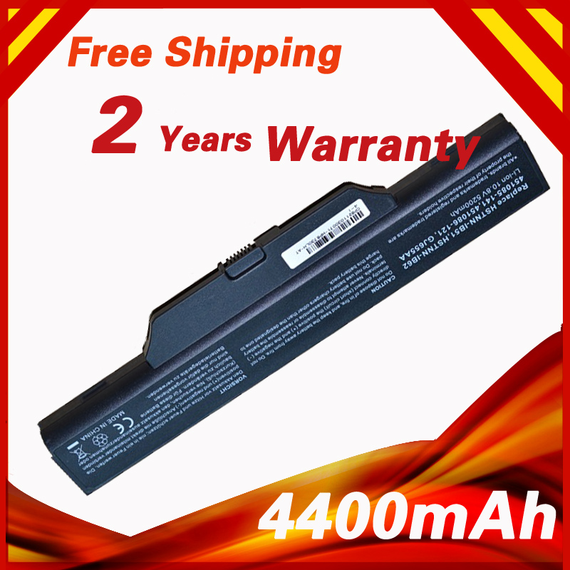 4400mAh Battery for COMPAQ 510 511 610 615 for HP 550 Business Notebook 6720s 6720s/CT 6730s 6730s/CT 6735s 6820s 6830s