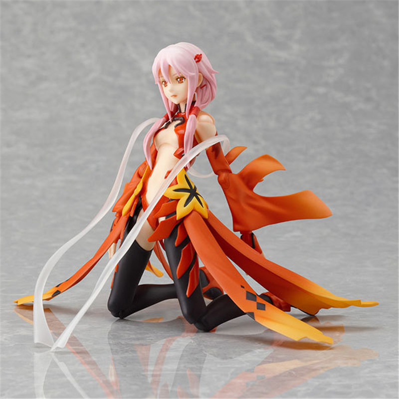 Anime Figure Guilty Crown Collection Best-Doll Girl Yuzuriha Pvc No Action-14.5cm Toy