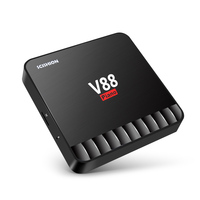 V88 Piano TV Box RK3328 4GB RAM 16GB ROM Android 7 1 USB 3 0