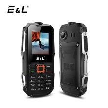 E & L K6900 оригинальный прочный телефон IP68 Водонепроницаемый противоударные сотовые телефоны Кнопка Dual SIM GSM открыл телефон дешевые китайские телефоны