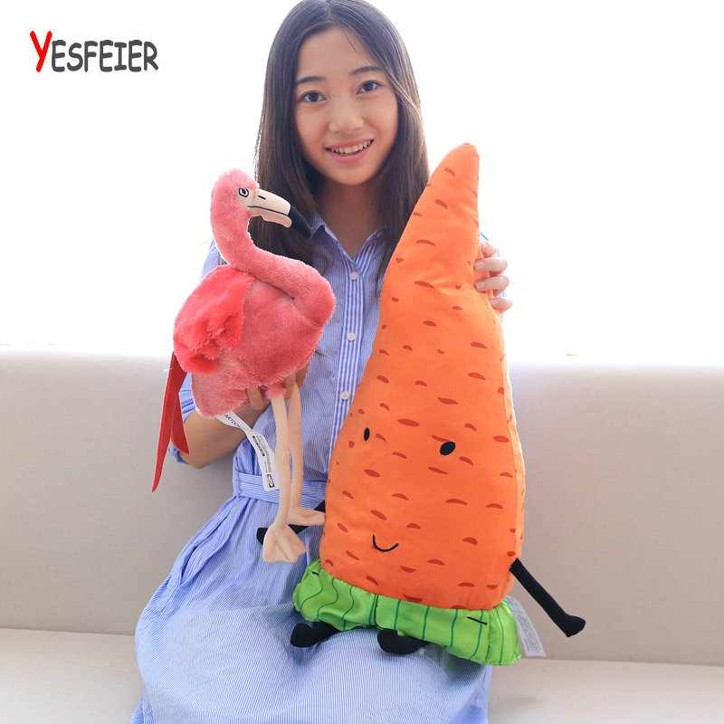 Collection Toy Home Shop Decor 30CM Simulation Flamingo Plush Doll Cute Wildlife Bird Stuffed Toy Gift Toy