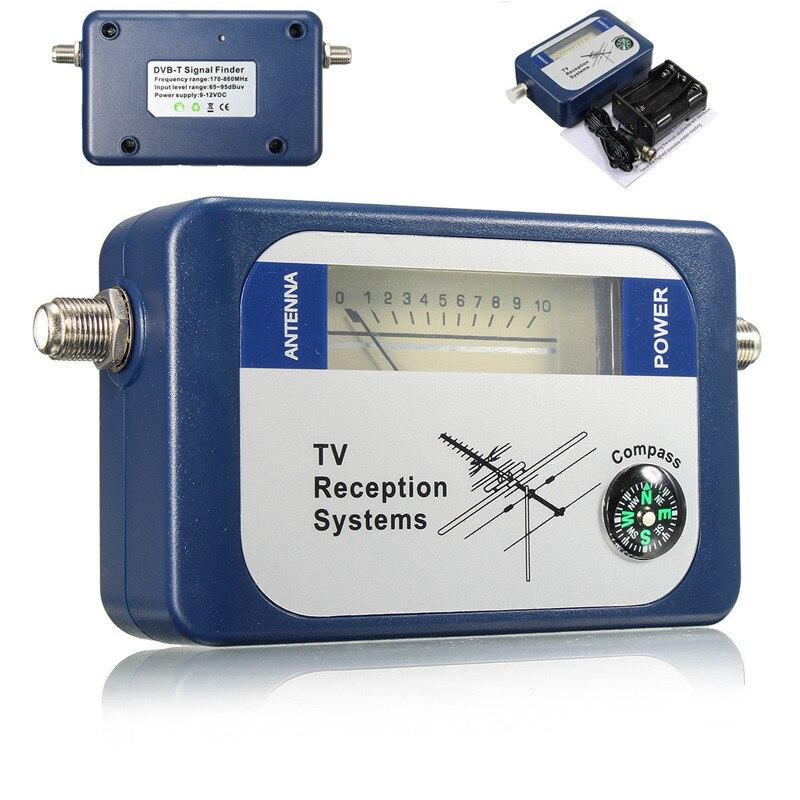 LEORY DVB-T TV Antenna Finder Digital Aerial Terrestrial Signal Strength Meter Pointer TV Satellite ReceiverLEORY DVB-T TV Antenna Finder Digital Aerial Terrestrial Signal Strength Meter Pointer TV Satellite Receiver