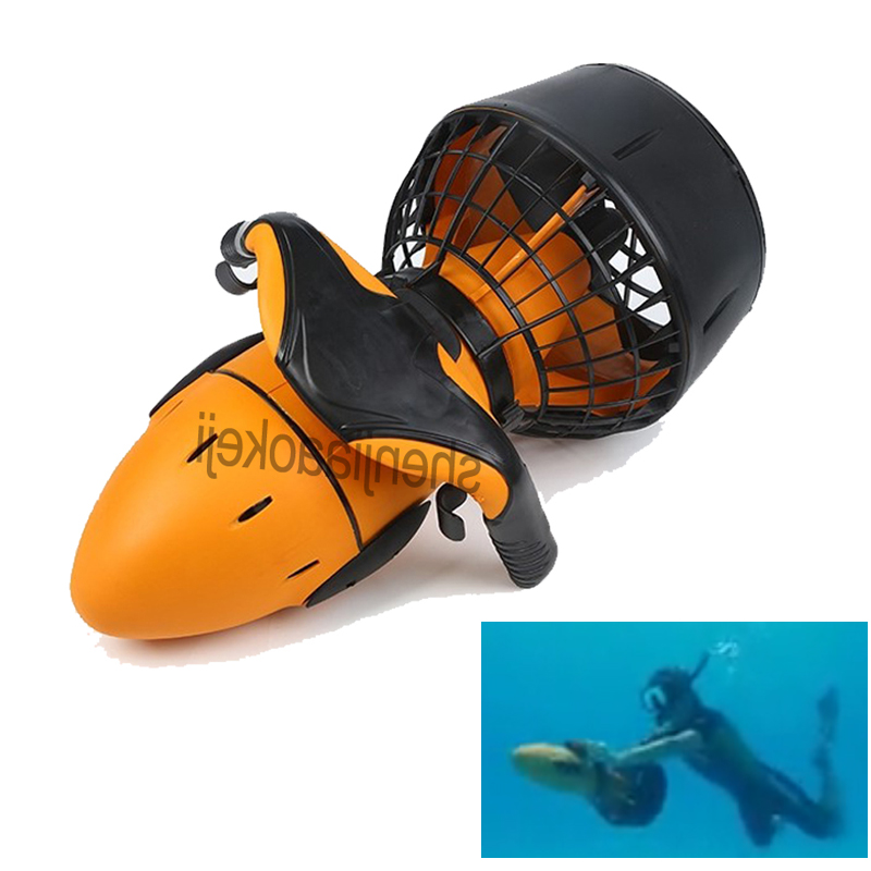 Surf booster Electric Underwater Scooter Water Sea Dual Speed Propeller Diving Pool Scooter Water Sports Equipment 1pc
