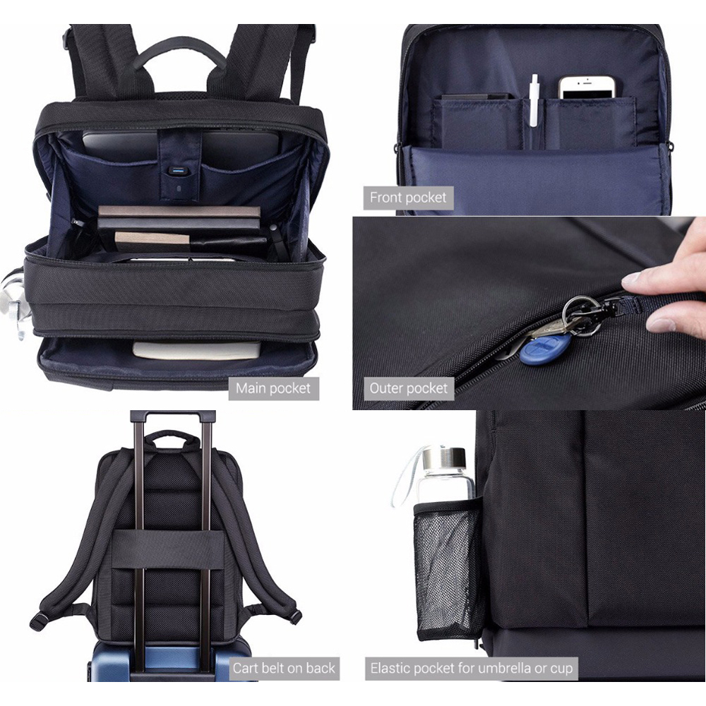 Gepäck & Taschen Original Xiaomi Klassische Business Rucksack Jugendliche Tasche Große Kapazität Schule Rucksack Studenten Taschen Geeignet Für 15 Zoll Laptop Herrentaschen