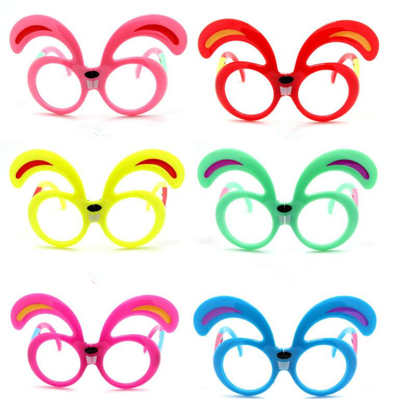 Cute Rabbit Ear Glasses Frame Boy Girl Foldable Eye Glasses Dress Up Props  Birthday Party Favors Gift Christmas Halloween In Party Favors From Home U0026  Garden ...