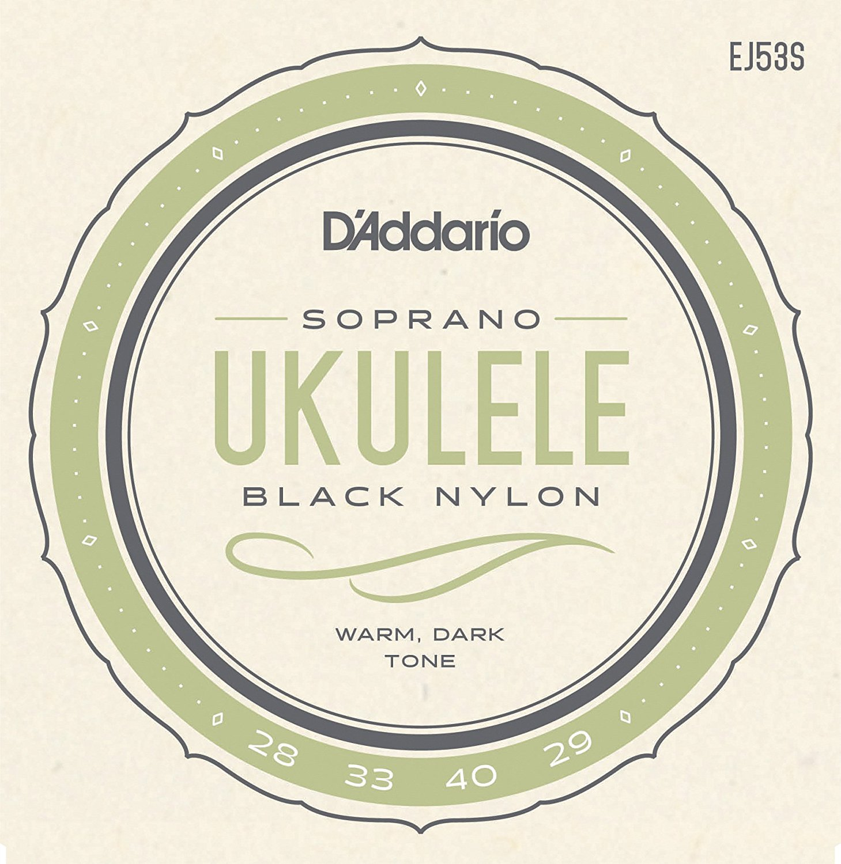 D'Addario Pro-Arte Rectified Nylon Ukulele Strings ، حفلة هاواي / سوبرانو EJ53S EJ53C