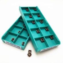 Carbide Insert SPMG050204 DG TT9030 / TT8020 CNC Lathe Slotting Tool Tungsten Turning