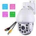 801-22X 1500TVL 22x Zoom Ótico Ao Ar Livre 250 m Laser IR-CUT noite versão 1080 P HD CCTV PTZ Dome de Alta Velocidade Câmera de segurança
